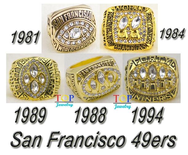 1981 1984 1988 1989 1994 All San Francisco 49ers Super