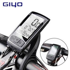 Беспроводной Велосипедный компьютер GIYO, водонепроницаемый с Bluetooth 4,0, с измерителем скорости и креплением