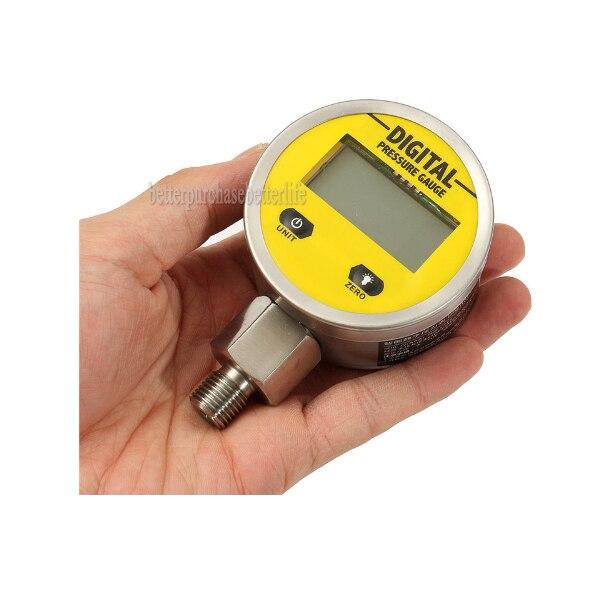 0-25mpa npt1/8 3 В цифровой Дисплей масла Давление датчик гидравлический Давление Тесты метр для Газ Вода Масло прочный