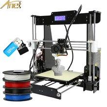 Anet A6&A8 3d printer machine impressora 3D Printer Kit Easy Assemble Reprap DIY 3d Printer Free 1roll 0.5kg Filament