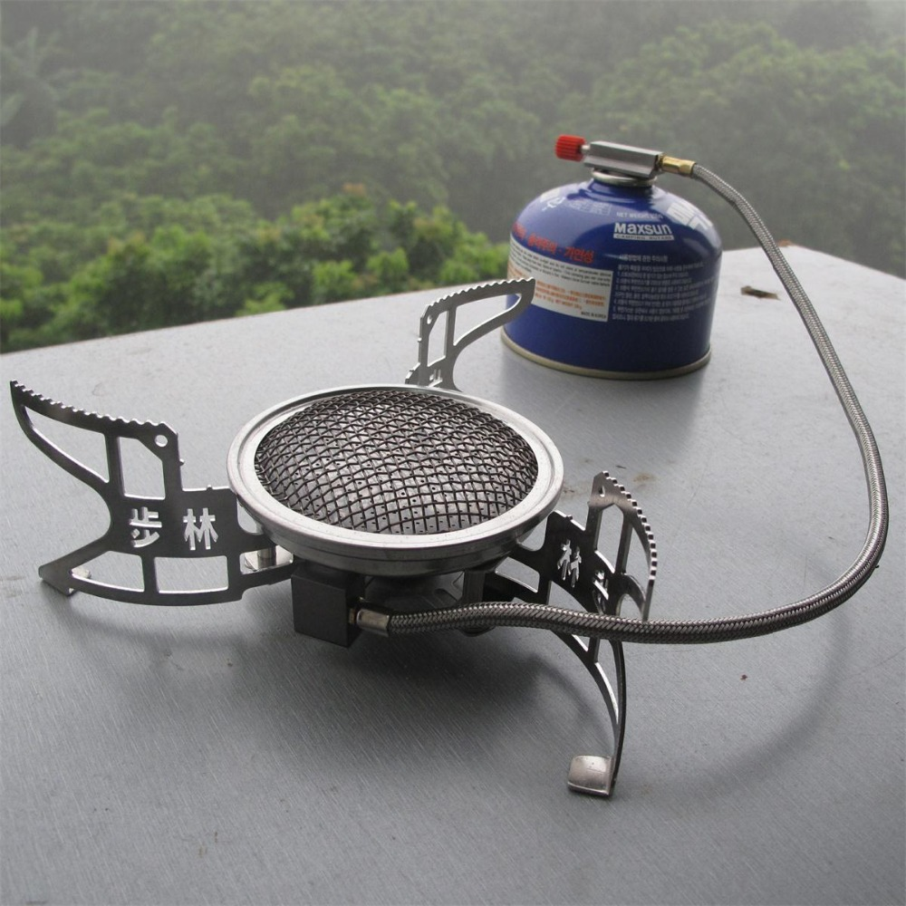 цена на BULIN BL100-B15 Outdoor Gas Stove Folding Cooking Furnace Stove Camping Gas Stove Split Gas Furnace Gas Burner Outdoor Survival