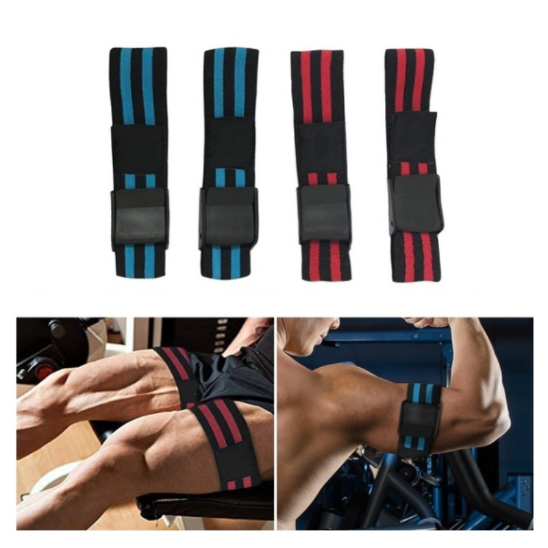 2pcs Training Bands By BFR Bands Fitness Arm Strap Blood Flow Restriction Bands Exercising Gym Sport Training Body-building belt