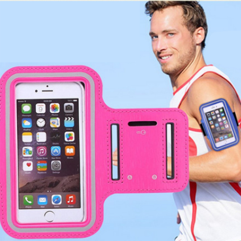 Inventive 5.1 Inch Gym Case For Samsung S5 S6 S7 Sports Jogging Armband Bag For Huawei P10 Phone Holder Universal Running Arm Band Case Aromatic Flavor
