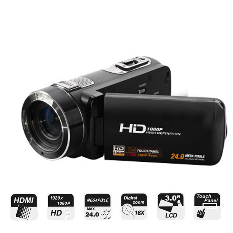 Digital Video Camera Z8 PLUS Full HD Support Remote Control 24MP 1080P 16X DIGITAL ZOOM COMS HDMI Output Video Camcorder