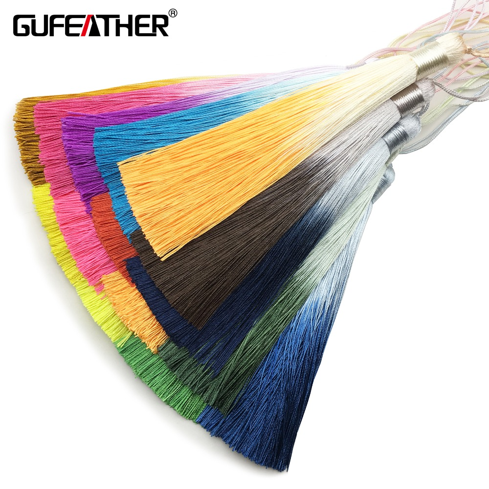 GUFEATHER L165,tassel,silk Tassels,jewelry Accessories,hand Made,accessories Making,jewelry Findings,diy Earrings,jewelry Making