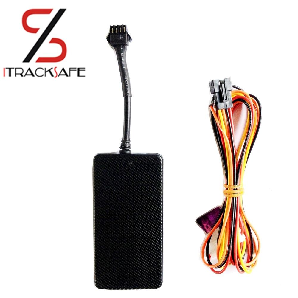 antitheft 12 volt gps bilspårare med röstövervakning och fjärrstyrd avstängningsfunktion