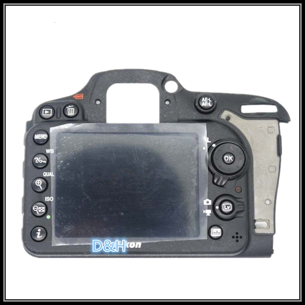 Original for Nikon D7100 full set rear shell Camera Repair Replacement Part new original sd cf memory card cover shell for slr nikon d810 camera replacement unit repair part