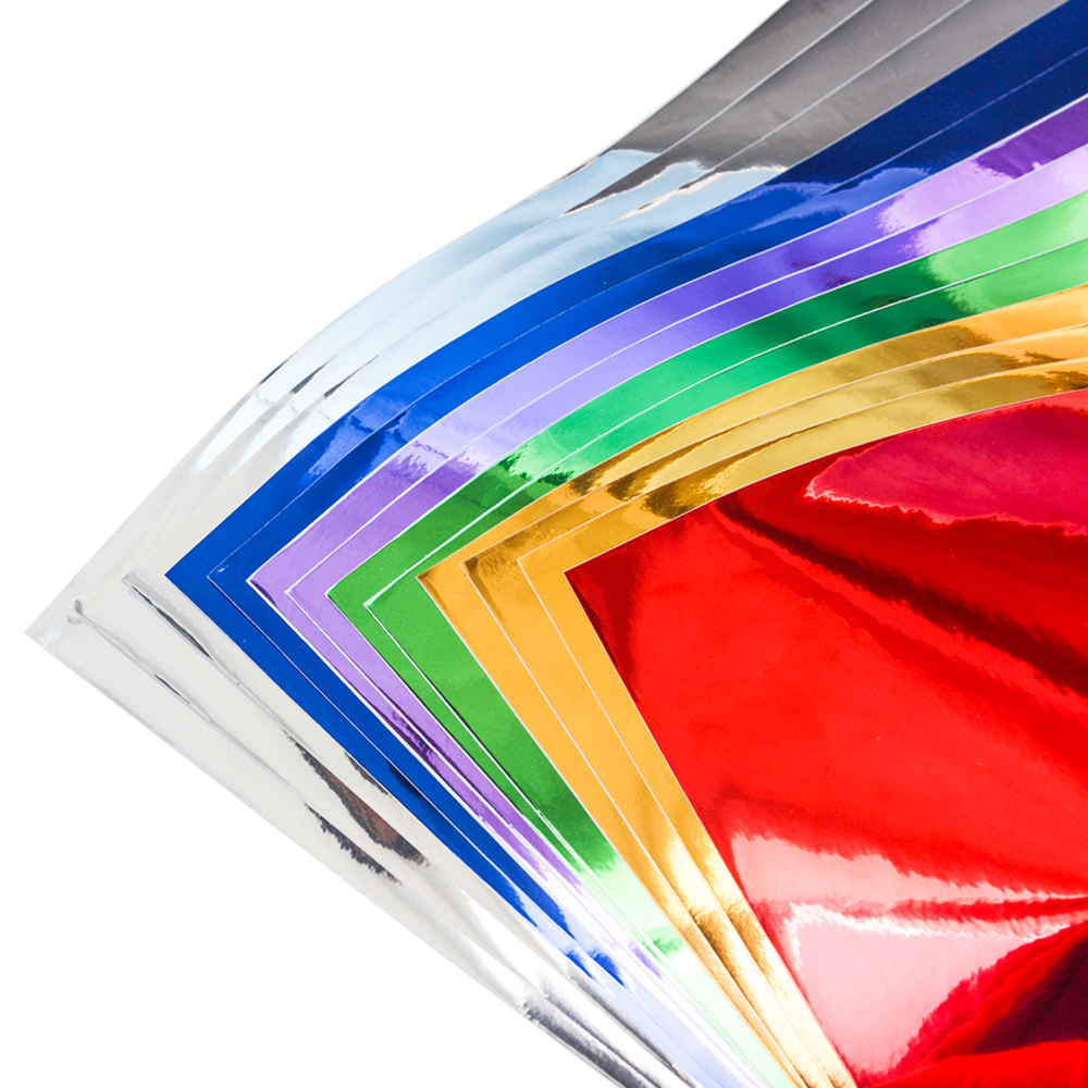 Cheap vinyl for crafts - 12 X12 Chrome Mirror Self Adhesive Vinyl Sheets 13 Sheets For Cricut Or Craft Cutters
