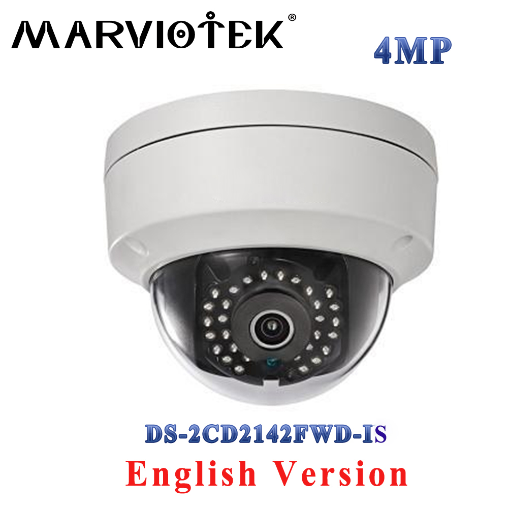 DS-2CD2142FWD-IS hikvision ip camera 4mp poe ip cameras outdoor security Video Surveilance camera with audio alarm TF Card Slot 8mp ip camera cctv video surveillance security poe ds 2cd2085fwd is audio for hikvision dahua dvr hik connect ivm4200 camcorder