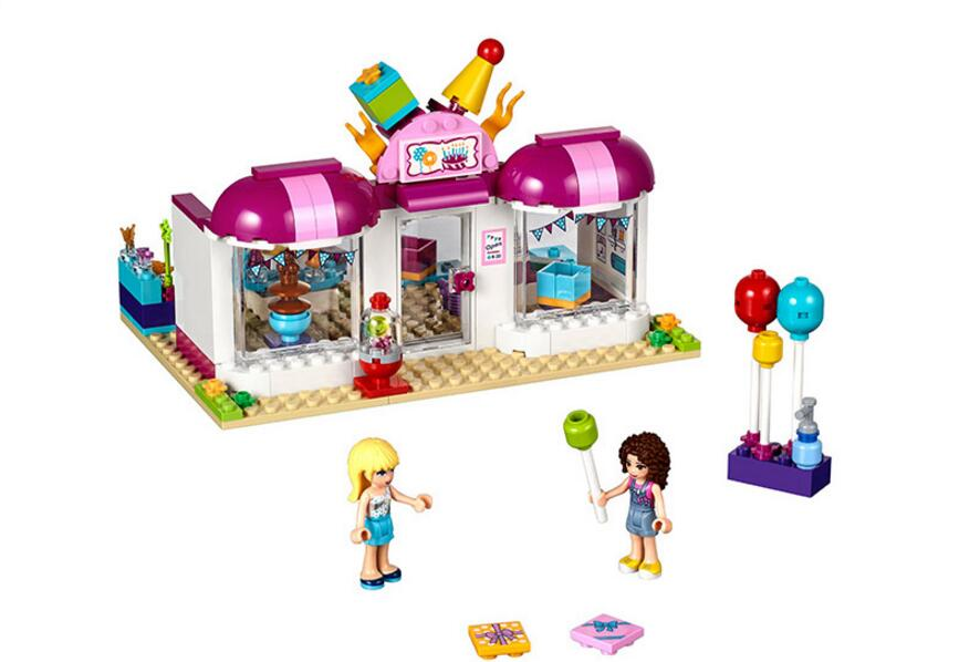 Lepin 41132 FFriends For Girl Party Gift Shop Building Block Compatible Boy Brick Kids Toys For Children