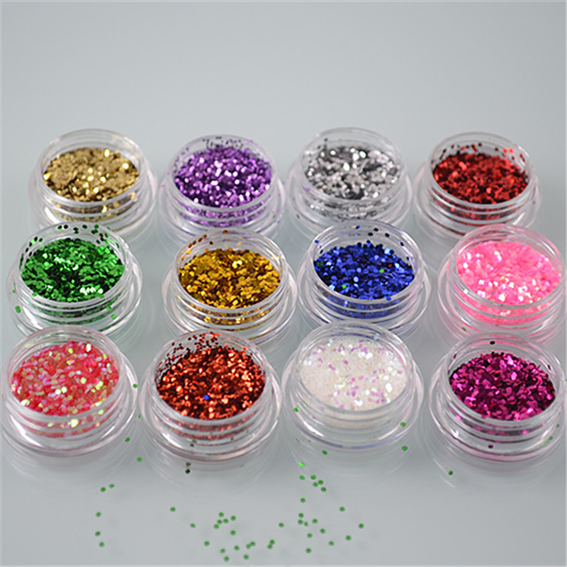 XW0040 Good Nail Glitter Powder best quality Nail Dust Powder Mermaid Manicure Nail Art Glitter hisenlee 1728pc pack multi size ss3 ss10 blue green pink white opal nail rhinestone glitter flat back crystal gems 3d nail art