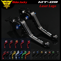 RiderJacky Motorcycle Accessories Short Brake Clutch Levers For Yamaha MT 09/SR MT09 MT 09 2014 2018 2015 2016 2017