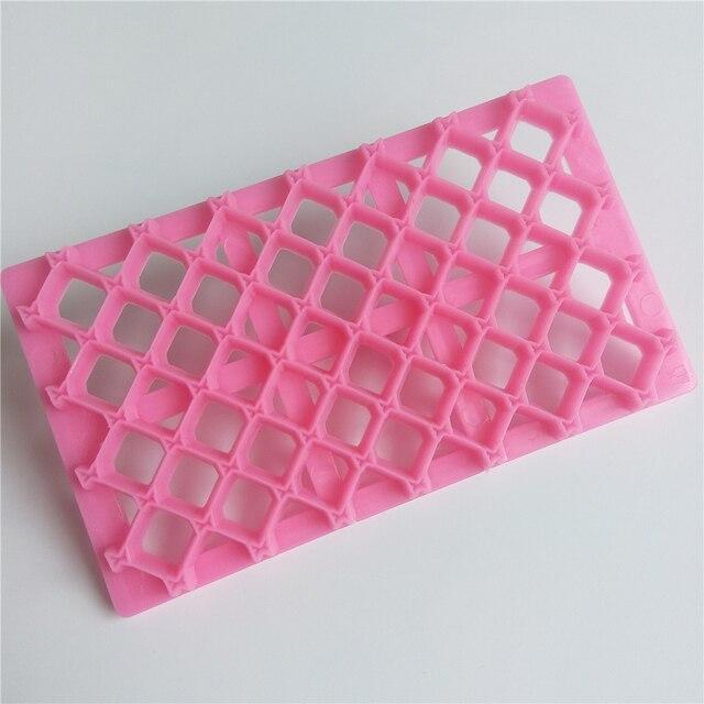 Amw Strik Fondant Embosser Mold Plastic Handleiding Embosser Cutter