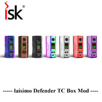 Big Sale Laisimo Defender 200W TC Box Mod VW Variable Wattage Powered By 18650 Battery OLED