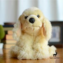Plush Animals Children'S Toys  Dane Doll  Simulation  Spaniel Cute Dog  Stuffed Toy Gifts Kawaii