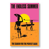Endless Summer movie poster surfing Endless Summer beach canvas printing decorative painting core