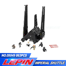NEW LEPIN 05049 STAR WARS Rogue One Emperor fighters starship Model Building Kit Blocks Bricks Toy Compatible legoed 75156