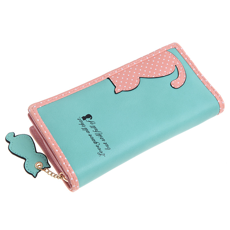 2017 Wallet Women Long And Short For Credit Cards Carteira Feminina Luxury Brand Female Purse Fashion Cute Wallet Coin Pocket