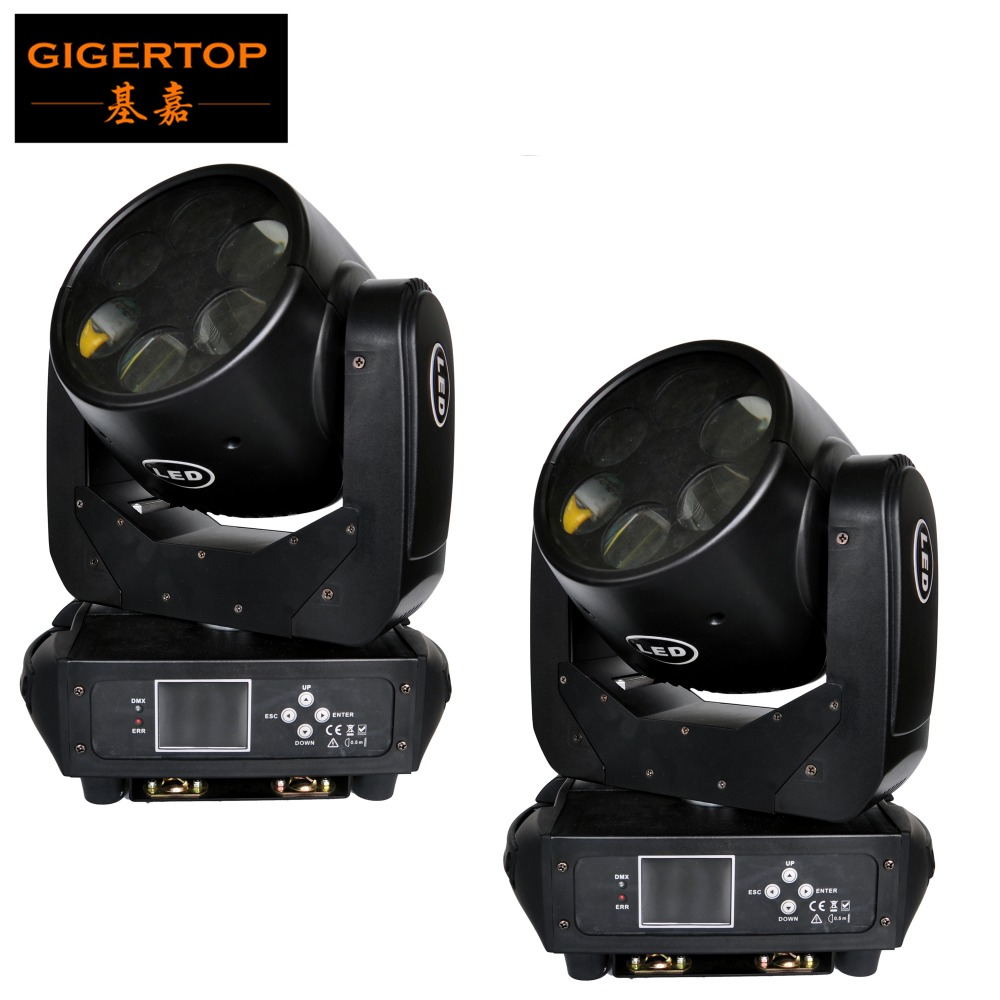 Cheap Price 2 Units 6X25W High Brightness LED Super Beam Moving Head Light White Tyanshine Led Red/Blue/Yellow Color Wheel