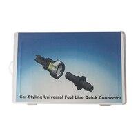 De coches de estilo de Línea De Combustible Universal Conector Rápido SAE 1/4