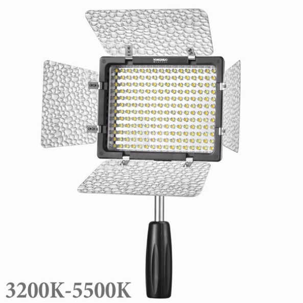 New YONGNUO YN160III YN 160III Pro LED Video Light