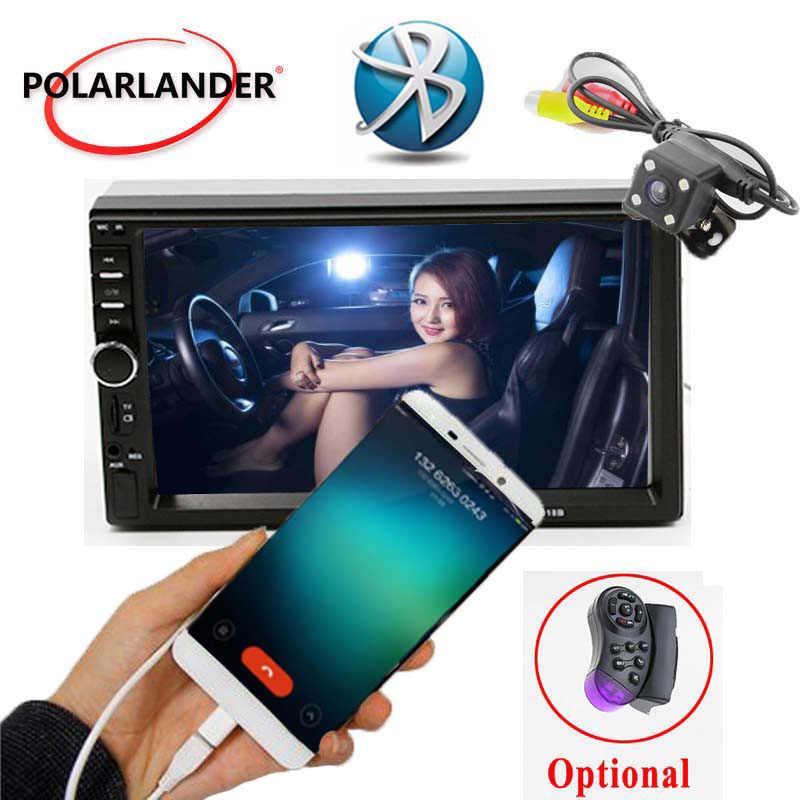 7 インチミラーリンク Android 7.0 FM Lcd タッチスクリーンの Bluetooth Automagnitol カーオーディオラジオカセットプレーヤー 2 Din リアカメラ