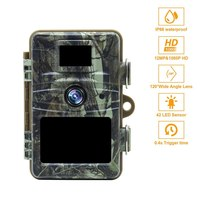 Night Vision 12Mp Infrared Cam Hd Wildlife Trail Camera Trap Wildlife Scouting Camera Hunting Trail Camera Wide Angle 120 Degree