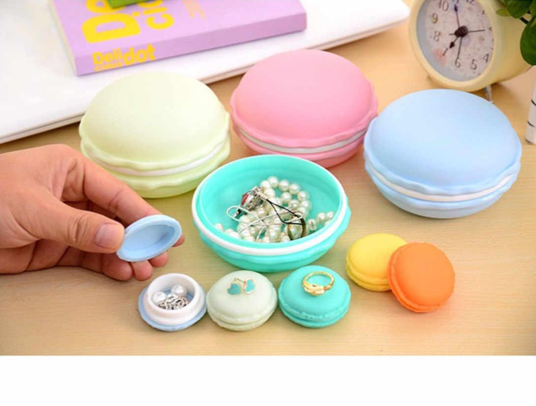 תכשיטי אריזת תצוגת עגיל אוסף תיבת שקוף פלסטיק תיבת רשת נייד עגילי קופסות תכשיטים ואריזה
