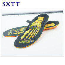 SXTT Breathable Deodorant Shoe Running Cushion Insoles Pad Insert Orthotic Arch Support Sport insole Insert for Men women