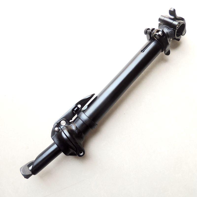 ZOOM 440 MM aluminum alloy 25.4 black silver adjustable folding bike stem steer driving rod