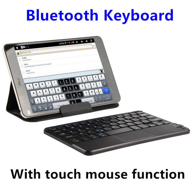 half off 189e0 5e13c US $18.95 |Bluetooth Keyboard For Samsung galaxy Tab 4 8.0 Tablet PC T330  T331 T335 T350 T355 Wireless keyboard Android Windows Touch Case-in ...