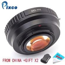 Pixco – réducteur de focale dobjectif Minolta MD, Booster de vitesse, adapté à lappareil photo Fujifilm