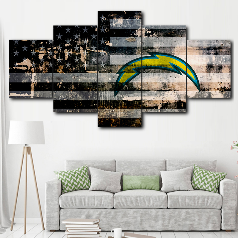 Oakland Raiders HD Print Oil Painting Home Decor Wall Art on Canvas Unframed