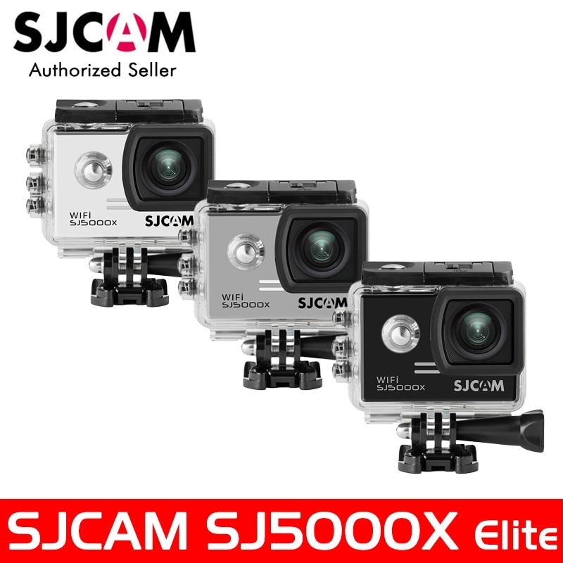 SJCAM SJ5000X Elite WiFi 4K 24fps 2K30fps Gyro Sports DV 2.0 LCD NTK96660 Diving 30m Waterproof Action Camera Optional Package