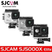 SJ5000X Elite SJCAM WiFi 4 K 24fps 2K30fps Giroscopio Deportes DV 2.0 LCD NTK96660 Buceo 30 m Impermeable Cámara de La Acción Paquete opcional