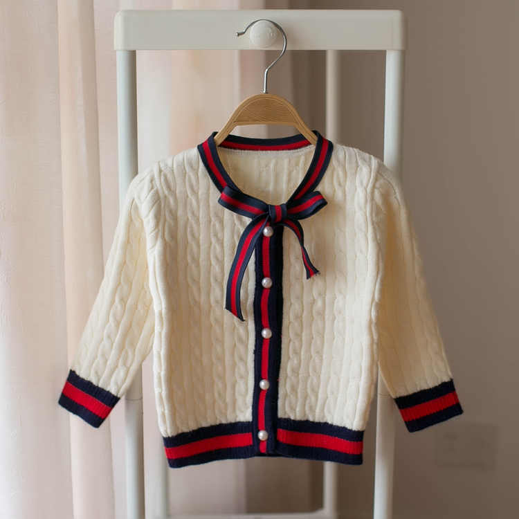 Girls sweater 2019 new style autumn girls fashion foreign long-sleeved sweater children cute sweaters kids tops coats