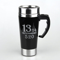 Hot And Sale Personality Stainless Steel Coffee Self Stirring Mug Keep Warm Mugs Automatic Mixing Cup