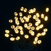 Led Solar Lamp LED Outdoor Solar Lamp LED String Lights Fairy Holiday Christmas Party Garlands Solar Garden Waterproof Lights