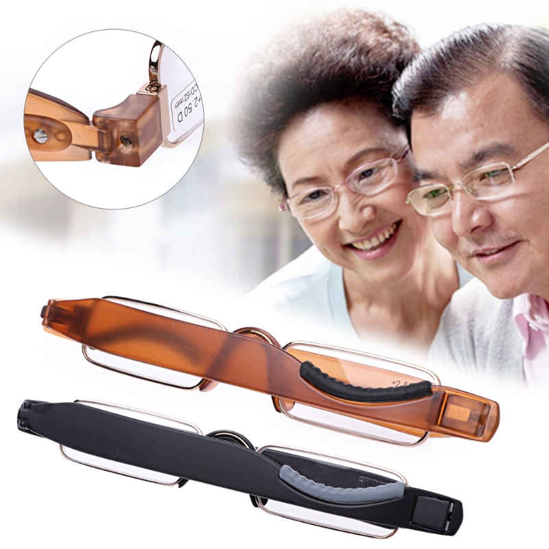 Folding Fashion Reading Glasses Rotate 360 Degrees TR90 Frame Men And Women Reading Glasses 1.0 1.5 2.0 2.5 3.0 3.5 4.0 QTYZ942