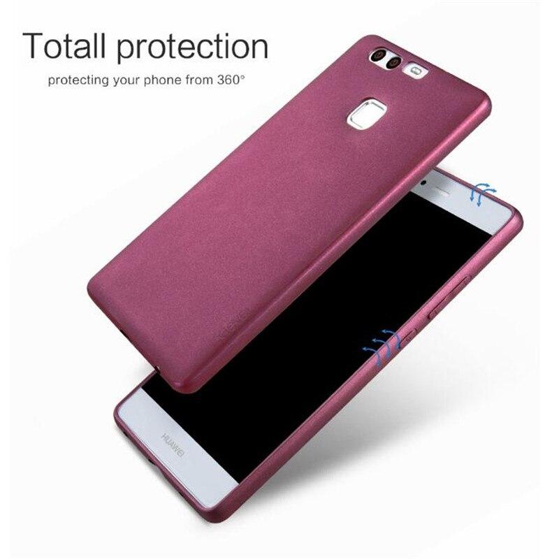 X-Level Guardian Soft Matte TPU Case for Huawei P9 Plus Scrub Back Cover for Huawei P9plus VIE-L09 Dual sim VIE-L29 Silicon Case