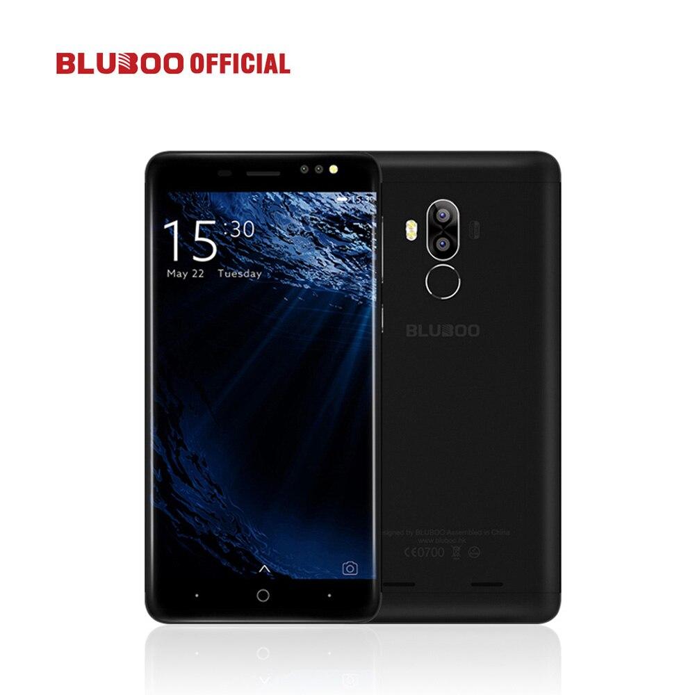 Bluboo D1 5.0 ''3G smartphone HD 8MP cámara trasera dual MTK6580 Quad Core 2G Ram 16g rom Android 7.0 turrón 2600 mAh teléfono móvil