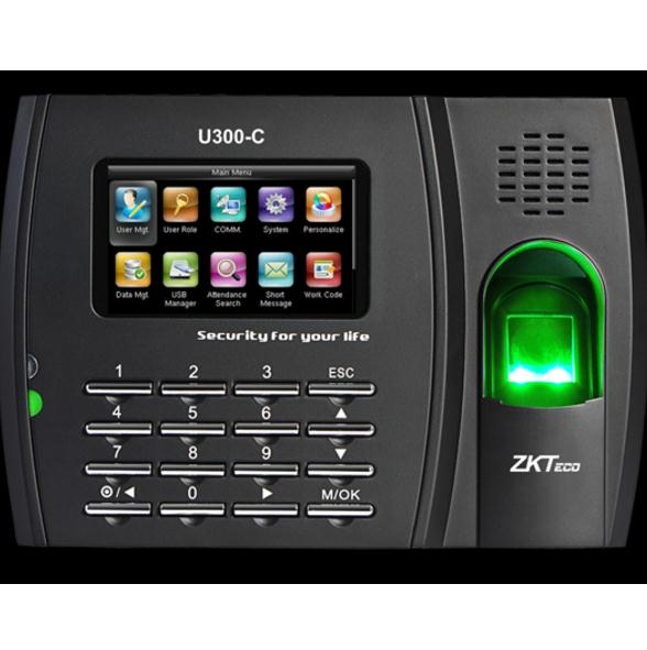 u300 c biometric fingerprint recognition time attendance system