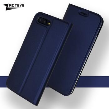 Huawei Honor 10 Lite etui ZROTEVE portfel Coque dla Huawei Honor widok 10 Lite etui z klapką skórzane etui do Huawei V10 Honor10 etui tanie i dobre opinie Flip Stand Wallet PU Leather Case Geometryczne Zwykły Anti-knock Podpórka Z Kieszeni Karty DUX DUCIS Wallet PU Leather Case Series