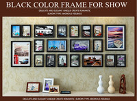 Pine wood Frame Wall For Household Decorate 2001