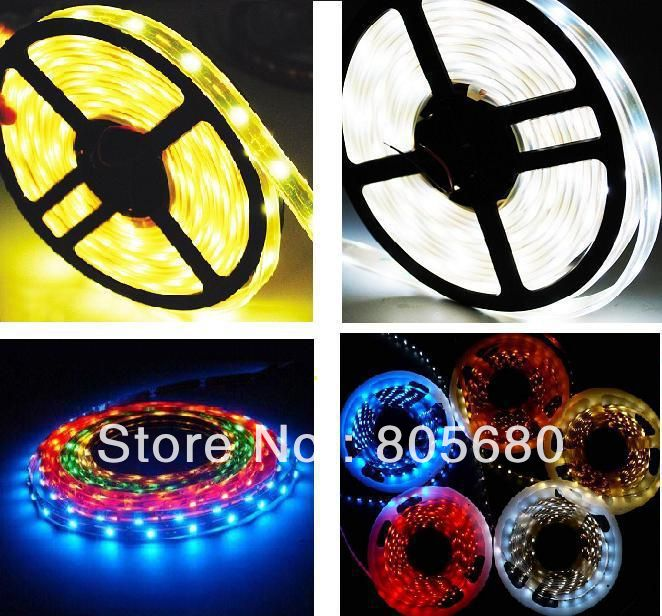 18 month warrantly 5m 300LED 5050 SMD waterproof 12V high lumen 5050 led strip lights for swimming pool