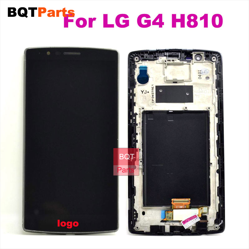 ФОТО For LG G4 H810 H815 VS999 Lcd Screen Display Digitizer Touch Screen with Frame Full Assembly
