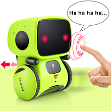 Robot Intelligent Programming  Robot Toy Biped Humanoid Robot For Children Kids Birthday Gift Speaking ,walking , touching sense цены