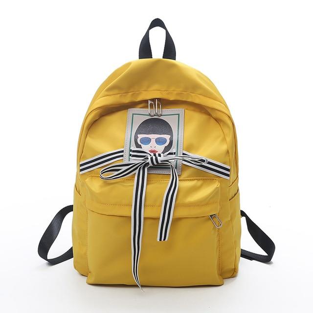79ef60fa6871 woman bag japanese backpack cute bolsa nylon rucksack kawaii schoolbag  women backpacks for children traveling bookbags