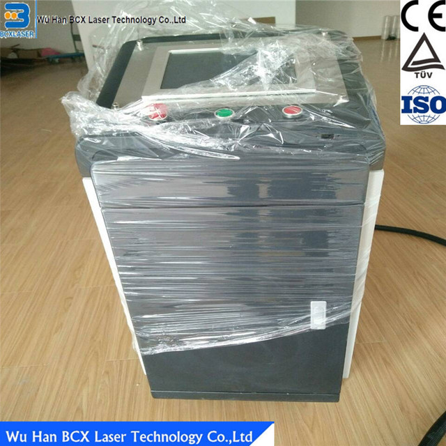 10w fiber laser cleaning machine for paint removal/laser rust