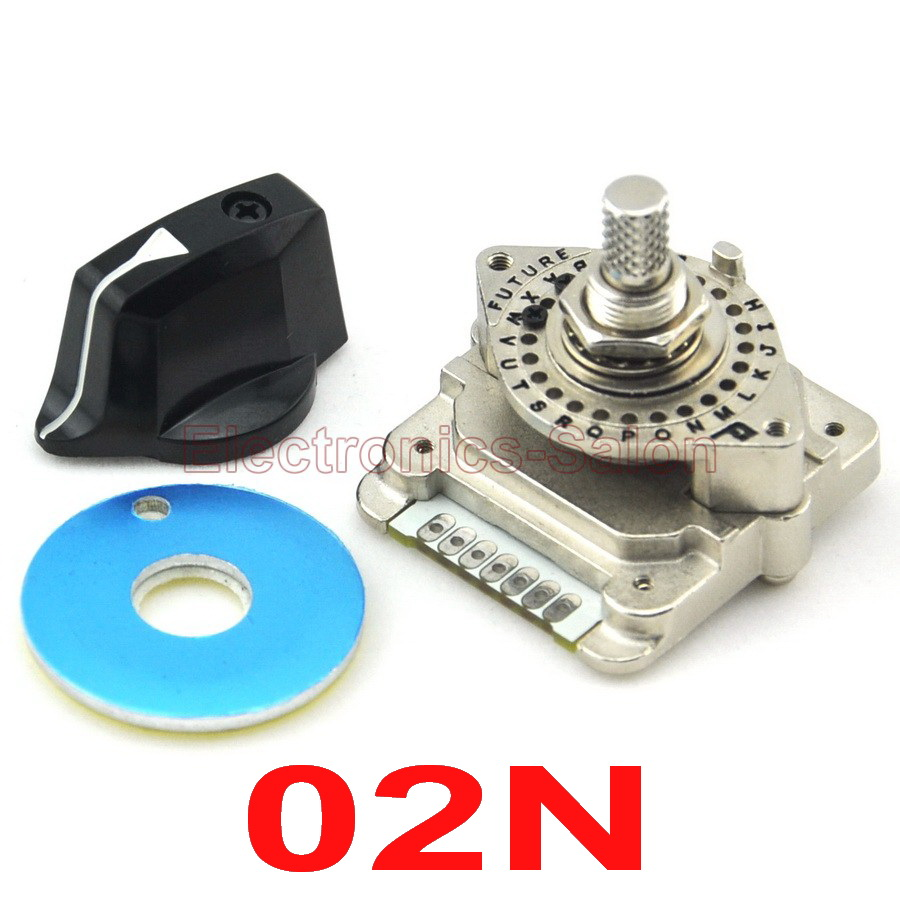 HQ Digital Code Rotary Switch, NDS-02N, Encode, For Industrial Control.